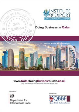 Qatar Cover Image With Outline